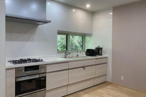 キッチン、浴室、洗面所改修